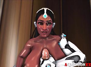 3D game heroes get pussy drilled by big dick dudes