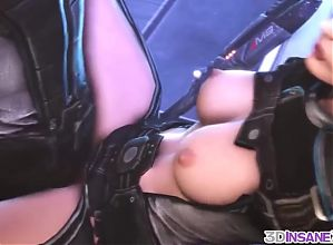 Big tits 3D game heroes fucking hard and raw
