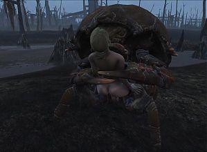 Fallout 4 Mirelurk Assault.
