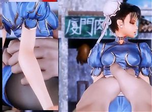 Chun Li is a slut for big cock!