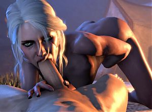 Ciri blowjob w sound